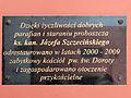 230313 Commemorative plaque of Church of Saint Dorothy in Cieksyn - 03.jpg