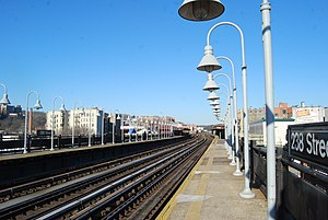238th Street (IRT Broadway–Seventh Avenue Line) - Platforms