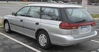 Subaru Legacy Brighton Wagonwith Amber Rear Turn Signal Lenses