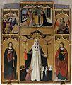 3481 Taggia (Italie) - Rétable de Ste Catherine de Sienne (Attr.L.Brea vers 1490).jpg