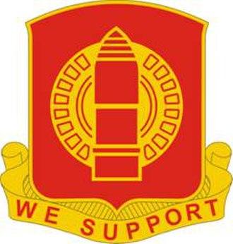 34th Field Artillery Regiment - Image: 34 FA Rgt DUI