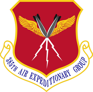 385th Air Expeditionary Group - Image: 385 Air Expeditionary Gp emblem