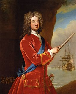 James Berkeley, 3rd Earl of Berkeley British Royal Navy officer and First Lord of the Admiralty