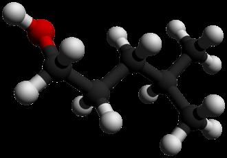 4-Methyl-1-pentanol - Image: 4 Methyl 1 pentanol 3D balls by AHRLS 2012