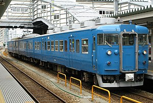 Ainokaze Toyama Railway - JR West 413 series EMU set B03