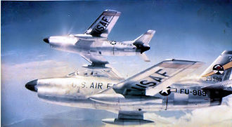 327th Air Division - 41st Fighter-Interceptor Squadron F-86Ds
