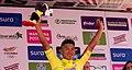 5 Etapa-Vuelta a Colombia 2018-Ciclista Jonathan Caicedo-Lider Clasificacion General.jpg