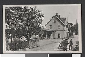 Bekkelaget Station - The station as seen from the road