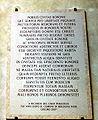 6248 - Bologna - Lapide, nel cortile di Palazzo d'Accursio - Foto Giovanni Dall'Orto, 9-Feb-2008.jpg