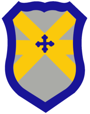 62nd Cavalry Division (United States) - Shoulder sleeve insignia of the 62nd Cavalry Division