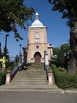 631534 podkarpackie gm Jawornik Polski Jawownik Polski kościół 1.JPG