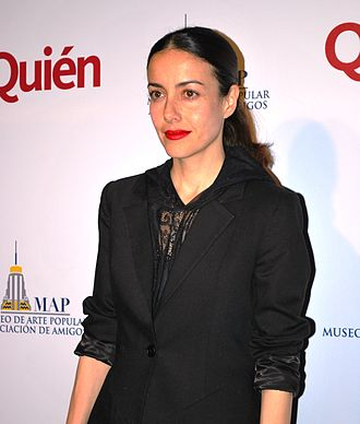 Cecilia Suárez - at the sixth anniversary celebration of the Museo de Arte Popular