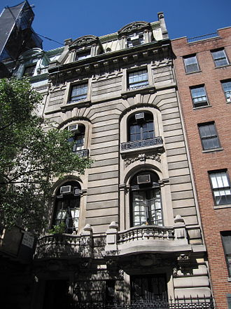 The Nanny - 7 East 75th Street on the Upper East Side of New York City was used for the exterior shots of the Sheffield townhouse.