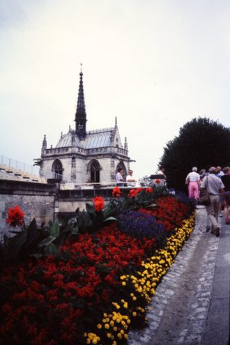 Amboise - Burial site of Leonardo da Vinci