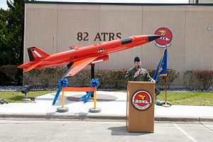 53d Weapons Evaluation Group - BQM-167 Streaker of the group's 82d Aerial Targets Squadron