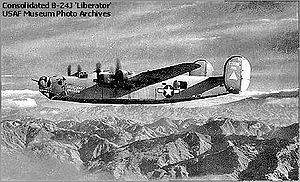 98th Operations Group - B-24 of the 98th Bombardment Group