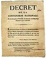 9 Thermidor - décret de la Convention nationale - mise hors de la loi des robespierristes de la Commune de Paris.jpg
