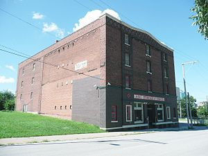 National Register of Historic Places listings in Jackson County, Missouri: Kansas City other - Image: A.B.C. Storage and Van Company Building