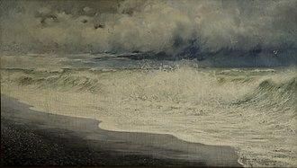 Arshak Fetvadjian - Image: A. Fetvadjian. Sea wave