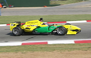 John Martin (Australian racing driver) - Martin competing for A1 Team Australia at the 2008–09 A1 Grand Prix of Nations, South Africa.