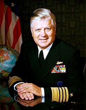 Harry D. Train II - Official portrait of Admiral Harry D. Train II, August 1982