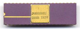 Intel 8080 - Image: AMD C8080A