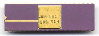 Intel 8080 - Image: AMD C8080A