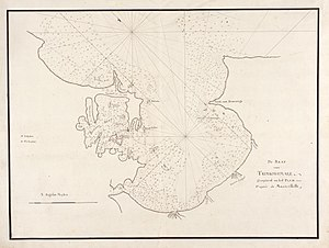 Trincomalee Bay - 18th century map of Trincomalee Bay.