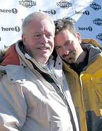 Armistead Maupin - Maupin (left) and his husband Christopher Turner at the 2006 Sundance Film Festival