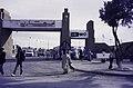 """ASC Leiden - van Achterberg Collection - 14 - 06 - Le portail de la foire annuelle Assihar """"Imar Tamanrasset"""" - Tamanrasset, Algérie - 1984.jpg"""