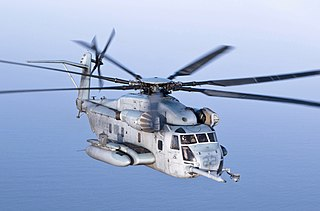 Sikorsky CH-53E Super Stallion Transport helicopter series by Sikorsky