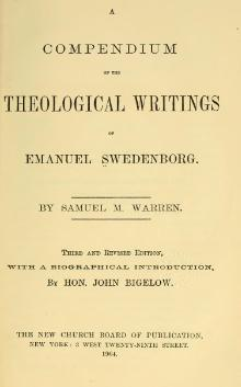 A Compendium of the Theological Writings of Emanuel Swedenborg.djvu