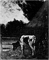 A Cow in the Twilight by Arthur Douglas Peppercorn Rijksdienst voor het Cultureel Erfgoed.jpg
