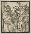 A Fool in the Service of the Devil and a Virtuous Man, from Hymmelwagen auff dem, wer wol lebt... MET DP849948.jpg