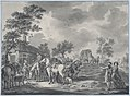 A Gathering of Horsemen and a Coach near a Watering Place MET DP875889.jpg