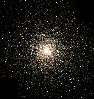 The globular cluster M80. Stars in globular cl...