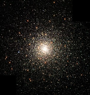 Globular cluster spherical collection of stars