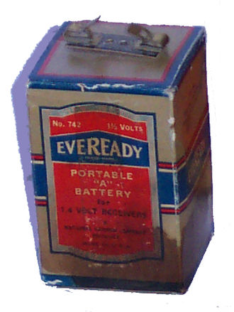 Eveready Battery Company - Image: A battery (Eveready 742)