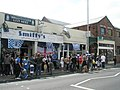 A bigger crowd than usual outside Smiffy's - geograph.org.uk - 807188.jpg