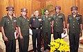 A five member Sri Lankan Army Delegation headed by Maj. Gen. H.C.P. Goonetilleke called on the COAS, Gen. V.K. Singh, in New Delhi on July 01, 2011.jpg