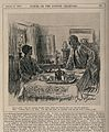 A physicians' wife having tea with one of her husbands patie Wellcome V0011538.jpg