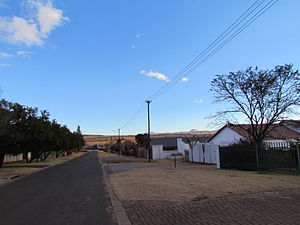 Lydenburg - A side street in Lydenburg