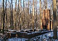 Abandoned foundation near middle creek - panoramio.jpg