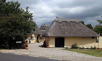 Abbess, Beauchamp and Berners Roding - Image: Abbess Beauchamp and Berners Roding, Essex England cottages