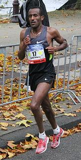 Abebe Dinkesa Ethiopian long-distance runner