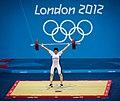 Abeer Abdelrahman Khalil Mahmoud Olympics 2012 Women's 75kg Weightlifting.jpg