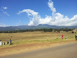 Aberdare Ranges in Nyandarua County