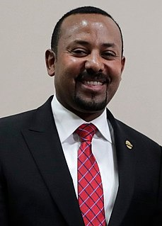 Abiy Ahmed Current Prime Minister of Ethiopia