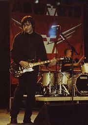 Rodrigo González als Gitarrist bei Abwärts 2006