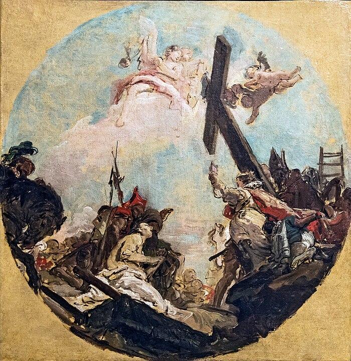 Accademia - Giambattista Tiepolo, L'esaltazion della Croce e sant'Elena